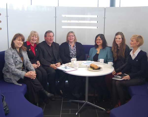 First  Social Media Huddle at Corby Enterprise Centre